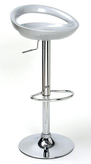 Modern Silver Barstool