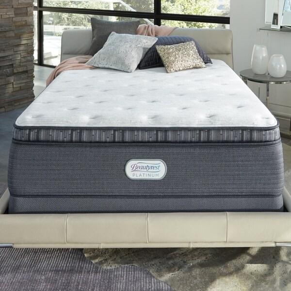 shop beautyrest platinum spring grove 15 inch plush twin xl size innerspring pillow top mattress. Black Bedroom Furniture Sets. Home Design Ideas