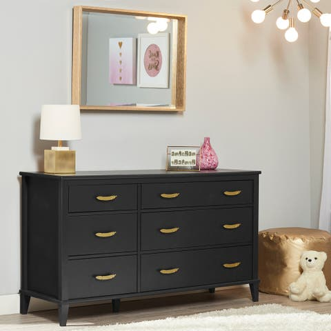 Little Seeds Monarch Hill Black Hawken 6 Drawer Dresser