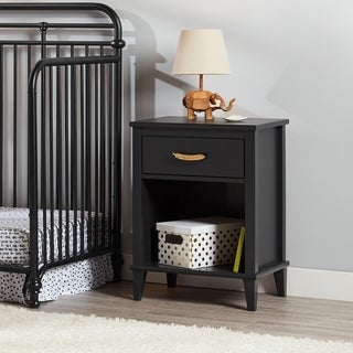 Little Seeds Monarch Hill Black Hawken Nightstand