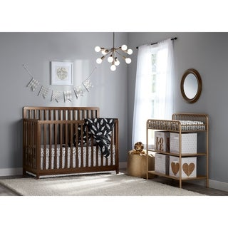 Little Seeds Sierra Ridge Walnut Cara Convertible Crib