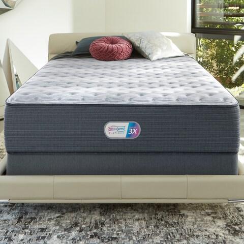 Beautyrest Platinum Haven Pines 14-inch Extra Firm Queen-size Innerspring Mattress Set - N/A