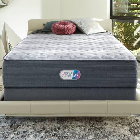 Beautyrest Platinum Haven Pines 14-inch Extra Firm Mattress Set