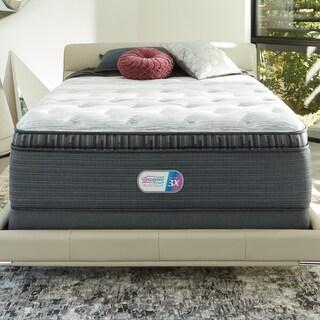 Beautyrest Platinum Haven Pines 16-inch Plush Queen-size Innerspring Pillow Top Mattress Set