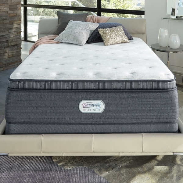 Shop Beautyrest Platinum Spring Grove 15 Inch Firm Twin Xl Size