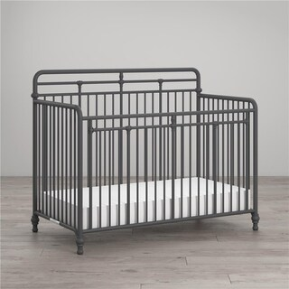 Link to Little Seeds Monarch Hill Hawken 3 in 1 Convertible Metal Crib Similar Items in Kids' & Toddler Furniture