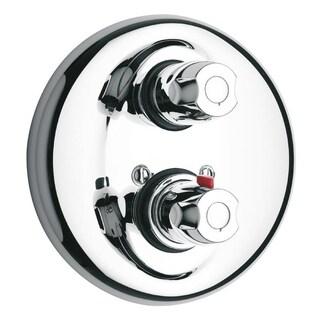 "LaToscana Water Harmony Thermostatic Valve With 3/4"" Ceramic Disc Volume Control Complete Unit"