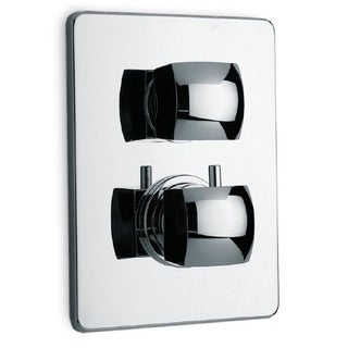"LaToscana Lady Thermostatic Valve With 3/4"" Ceramic Disc Volume Control Complete Unit"