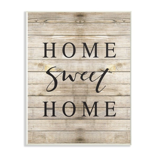 Shop The Stupell Home Decor Collection Home Sweet Home Family ...