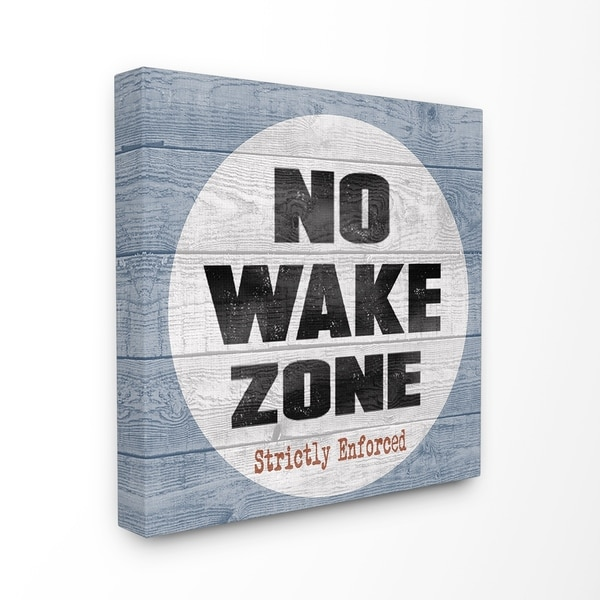 Home Decorators Collection Reviews: Shop The Stupell Home Decor Collection No Wake Zone Beach