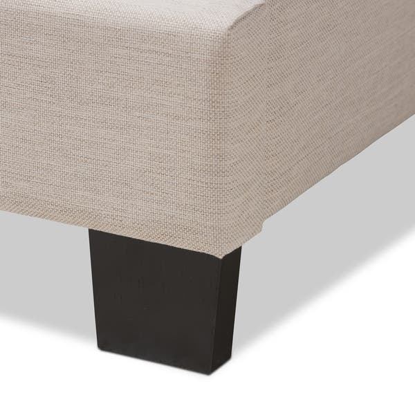 Brilliant Shop Contemporary Fabric Bed By Baxton Studio Free Gmtry Best Dining Table And Chair Ideas Images Gmtryco