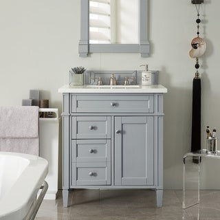"Brittany 30"" Single Vanity, Urban Gray"
