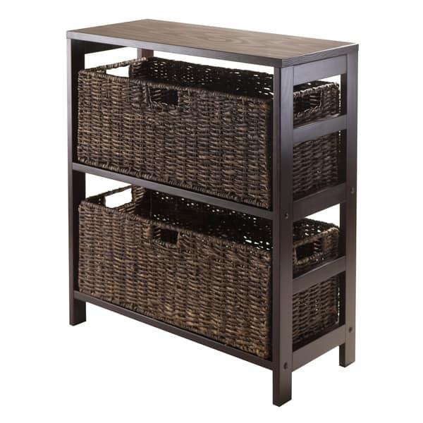 Granville 3pc Storage Shelf With 2