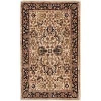 Safavieh Handmade Persian Legend Ivory/ Black Wool Rug - 2'6 x 4'