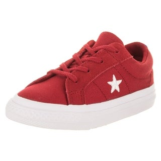 Converse Toddlers One Star Ox Casual Shoe