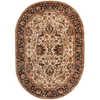 Safavieh Handmade Persian Legend Ivory/ Black Wool Rug