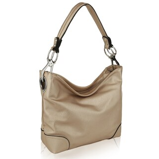 MKF Collection Emily Soft Vegan Leather Hobo Handbag by Mia K Farrow