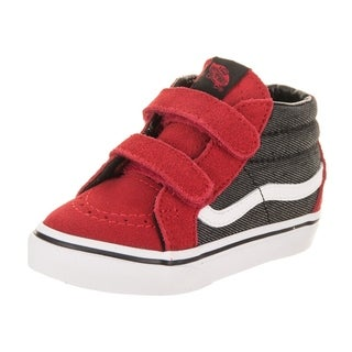 Vans Toddlers Sk8-Mid Reissue V (Suede/Suiting) Skate Shoe