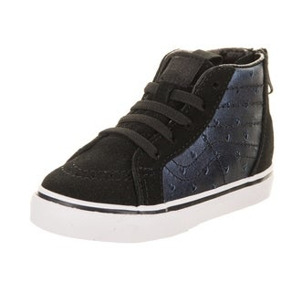 Vans Toddlers Sk8-Hi Zip (Metallic Hearts) Skate Shoe