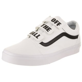 Vans Unisex Old Skool V (Off The Wall) Skate Shoe