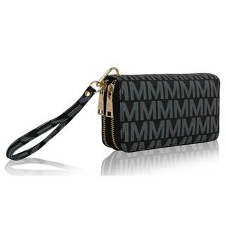 MKF Collection Kirbi M Embossed Designer Wallet by Mia K Farrow