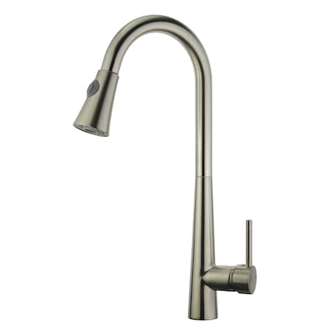 Legion Furniture Single Handle Pull Down kitchen Faucet With Deck