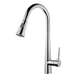Legion Furniture Single Handle pull Down kitchen Faucet