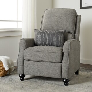 Jasper Laine Randolf Dark Grey Recliner