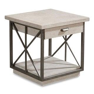 A.R.T. Furniture Arch Salvage Burton End Table - Mist
