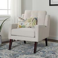 Carson Carrington Liam Beige Arm Chair