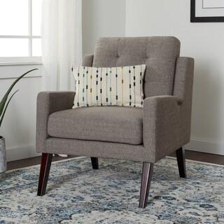 Carson Carrington Liam Grey Arm Chair