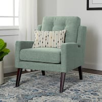 Carson Carrington Liam Seafoam Arm Chair