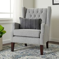 Jasper Laine Brynn Grey Arm Chair