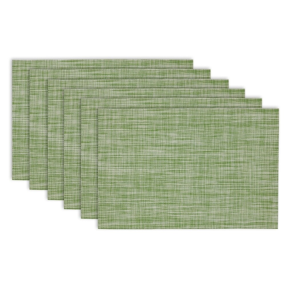 Design Imports Fig Green Tweed Pvc