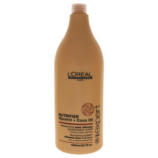 L'Oreal Professional Serie Expert Nutrifier Glycerol & Coco Oil 50.7-ounce Shampoo