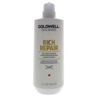 Goldwell DualSenses Rich Repair 33.8-ounce Restoring Shampoo