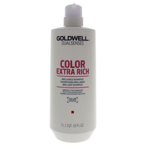 Goldwell DualSenses Color Extra Rich 33.8-ounce Brilliance Shampoo