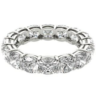 Seraphina Platinum 6ct TDW Cushion Cut Diamond Eternity Ring