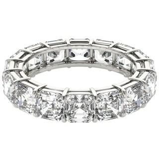 Seraphina Platinum 6ct TDW Asscher Cut Diamond Eternity Ring