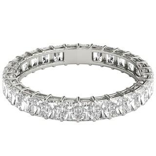 Seraphina Platinum 2ct TDW Radiant Cut Diamond Eternity Ring (More options available)