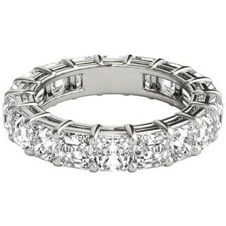 Seraphina Platinum 5ct TDW Asscher Cut Diamond Eternity Ring