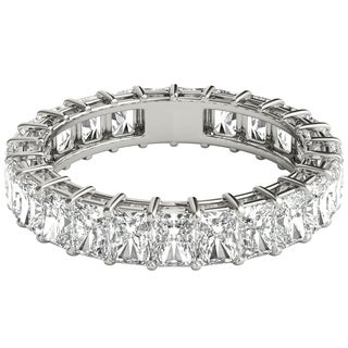 Seraphina Platinum 4ct TDW Radiant Cut Diamond Eternity Ring