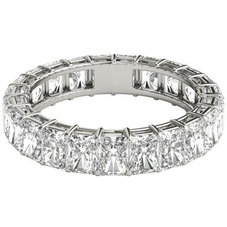 Seraphina Platinum 6ct TDW Radiant Cut Diamond Eternity Ring