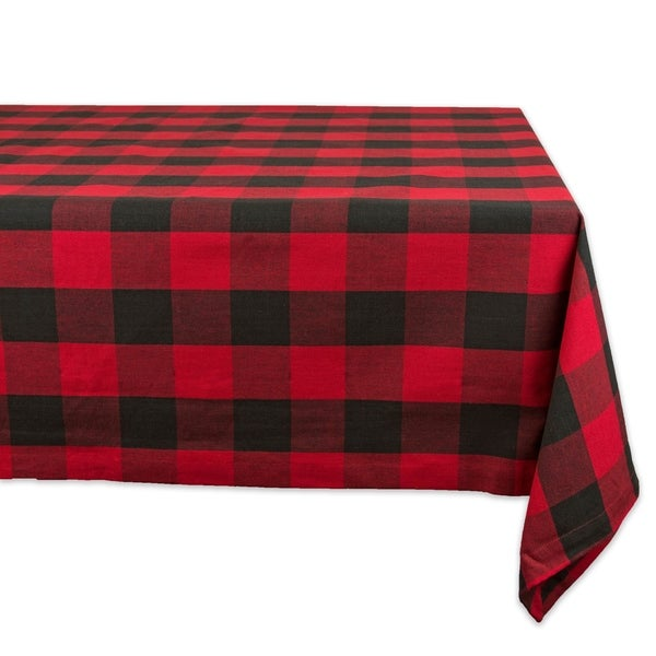 DII Buffalo Check Kitchen Tablecloth. Opens flyout.
