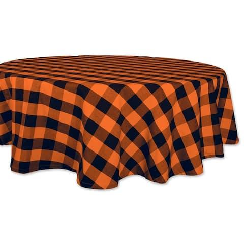 DII Buffalo Check Kitchen Tablecloth