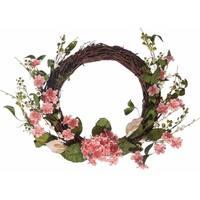 Faux Calla Lilly Hydrangea Wreath