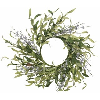 Wildflower and Greens Wreath