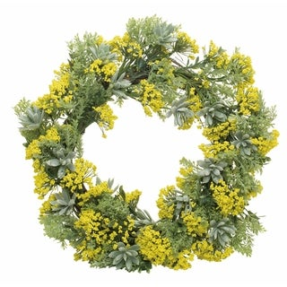 Link to Endless Summer Wreath-Yellow and Geen Similar Items in Decorative Accessories