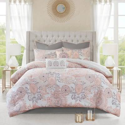 Size California King Pink Comforter Sets Find Great Bedding