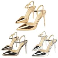 Women's Pointy Toe Sandals High Heel Shoes Thin Heels
